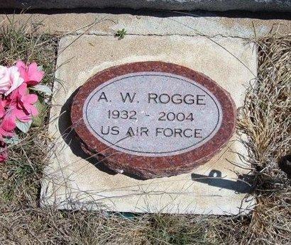 ROGGE, A W  (VETERAN) - Logan County, Kansas | A W  (VETERAN) ROGGE - Kansas Gravestone Photos