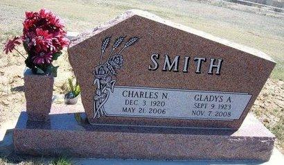 BUSH SMITH, GLADYS A - Logan County, Kansas | GLADYS A BUSH SMITH - Kansas Gravestone Photos