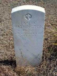 WASHINGTON, EARL A  (VETERAN WWI) - Logan County, Kansas | EARL A  (VETERAN WWI) WASHINGTON - Kansas Gravestone Photos