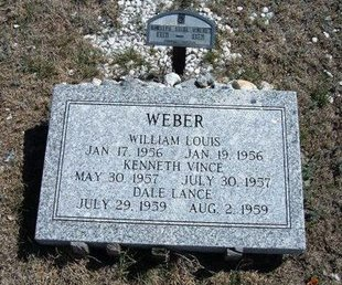 WEBER, KENNETH VINCE - Logan County, Kansas | KENNETH VINCE WEBER - Kansas Gravestone Photos