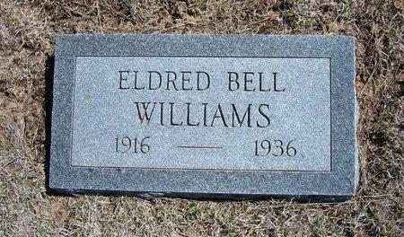 WILLIAMS, ELDRED BELL - Logan County, Kansas | ELDRED BELL WILLIAMS - Kansas Gravestone Photos
