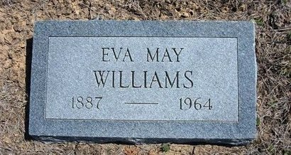 LEMMONS WILLIAMS, EVA MAY - Logan County, Kansas | EVA MAY LEMMONS WILLIAMS - Kansas Gravestone Photos