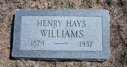 WILLIAMS, HENRY HAYS - Logan County, Kansas | HENRY HAYS WILLIAMS - Kansas Gravestone Photos