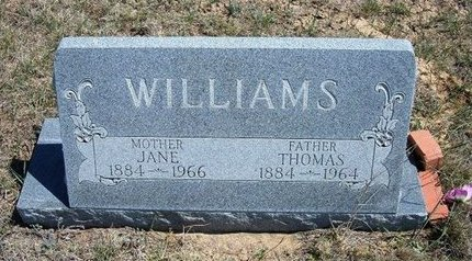WILLIAMS, THOMAS - Logan County, Kansas | THOMAS WILLIAMS - Kansas Gravestone Photos