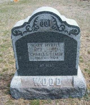 WOOD, CHARLES ELMER - Logan County, Kansas | CHARLES ELMER WOOD - Kansas Gravestone Photos