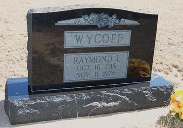 WYCOFF, RAYMOND L - Logan County, Kansas | RAYMOND L WYCOFF - Kansas Gravestone Photos