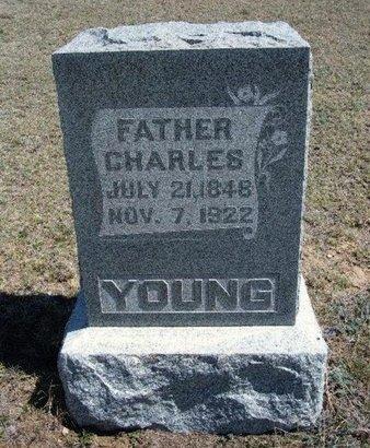 YOUNG, CHARLES - Logan County, Kansas   CHARLES YOUNG - Kansas Gravestone Photos