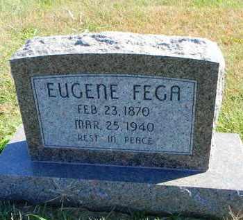 FEGA, EUGENE - Marshall County, Kansas | EUGENE FEGA - Kansas Gravestone Photos