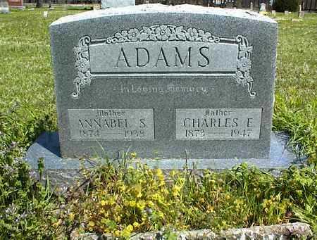 ADAMS, CHARLES E. - Montgomery County, Kansas | CHARLES E. ADAMS - Kansas Gravestone Photos