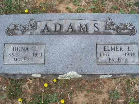 ADAMS, DONA T - Montgomery County, Kansas | DONA T ADAMS - Kansas Gravestone Photos