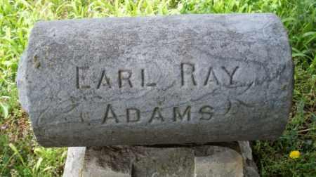 ADAMS, EARL RAY - Montgomery County, Kansas   EARL RAY ADAMS - Kansas Gravestone Photos