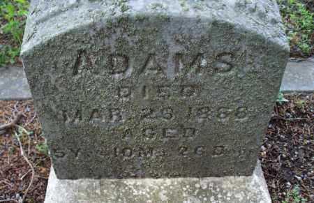 ADAMS, UNKNOWN - Montgomery County, Kansas   UNKNOWN ADAMS - Kansas Gravestone Photos