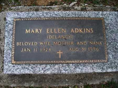 ADKINS, MARY ELLEN - Montgomery County, Kansas | MARY ELLEN ADKINS - Kansas Gravestone Photos