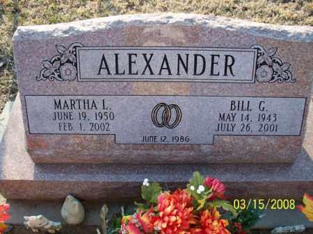 ALEXANDER, BILL G - Montgomery County, Kansas   BILL G ALEXANDER - Kansas Gravestone Photos