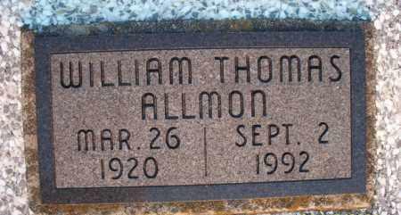 ALLMON, WILLIAM THOMAS - Montgomery County, Kansas   WILLIAM THOMAS ALLMON - Kansas Gravestone Photos
