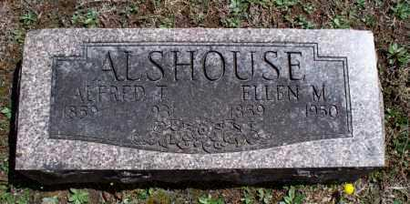ALSHOUSE, ELLEN M. - Montgomery County, Kansas | ELLEN M. ALSHOUSE - Kansas Gravestone Photos