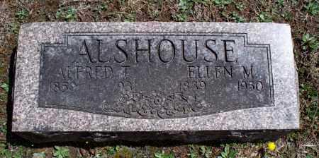 ALSHOUSE, ALFRED T. - Montgomery County, Kansas   ALFRED T. ALSHOUSE - Kansas Gravestone Photos