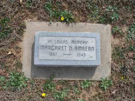 AMBERN, MARGARET D - Montgomery County, Kansas   MARGARET D AMBERN - Kansas Gravestone Photos