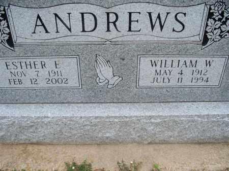 ANDERSON, WILLIAM W. - Montgomery County, Kansas | WILLIAM W. ANDERSON - Kansas Gravestone Photos