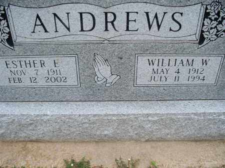 ANDERSON, WILLIAM W - Montgomery County, Kansas | WILLIAM W ANDERSON - Kansas Gravestone Photos
