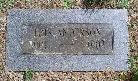 ANDERSON, LOIS - Montgomery County, Kansas | LOIS ANDERSON - Kansas Gravestone Photos
