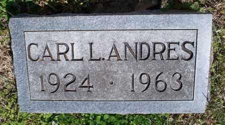 ANDRES, CARL L - Montgomery County, Kansas | CARL L ANDRES - Kansas Gravestone Photos