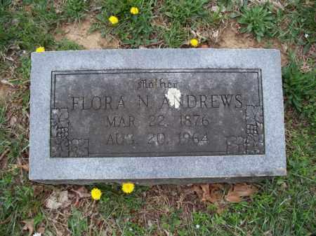 ANDREWS, FLORA N. - Montgomery County, Kansas   FLORA N. ANDREWS - Kansas Gravestone Photos