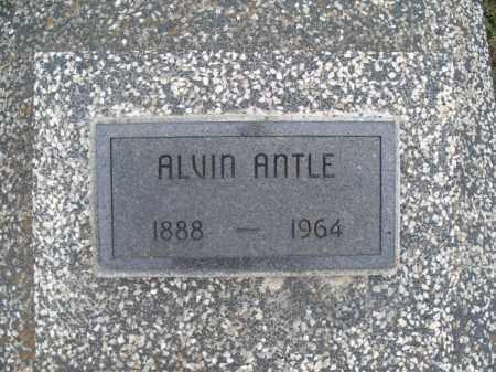 ANTLE, ALVIN - Montgomery County, Kansas | ALVIN ANTLE - Kansas Gravestone Photos