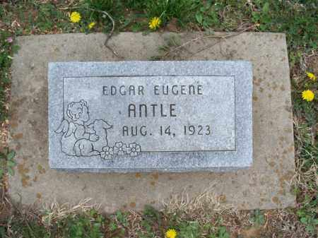 ANTLE, EDGAR EUGENE - Montgomery County, Kansas | EDGAR EUGENE ANTLE - Kansas Gravestone Photos