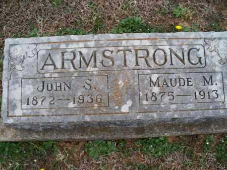 ARMSTRONG, JOHN S - Montgomery County, Kansas | JOHN S ARMSTRONG - Kansas Gravestone Photos