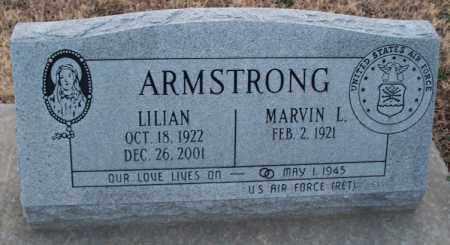 ARMSTRONG, LILIAN - Montgomery County, Kansas   LILIAN ARMSTRONG - Kansas Gravestone Photos