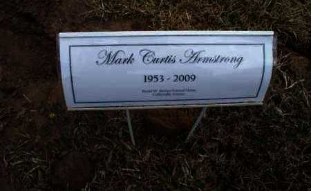 ARMSTRONG, MARK CURTIS - Montgomery County, Kansas | MARK CURTIS ARMSTRONG - Kansas Gravestone Photos