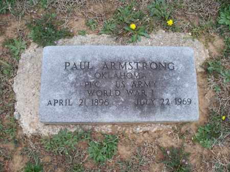ARMSTRONG, PAUL  (VETERAN WWI) - Montgomery County, Kansas | PAUL  (VETERAN WWI) ARMSTRONG - Kansas Gravestone Photos