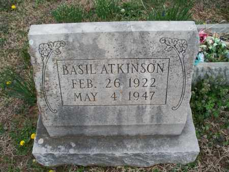 ATKINSON, BASIL - Montgomery County, Kansas   BASIL ATKINSON - Kansas Gravestone Photos