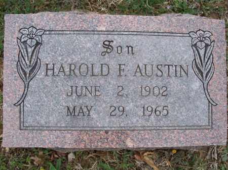 AUSTIN, HAROLD F. - Montgomery County, Kansas   HAROLD F. AUSTIN - Kansas Gravestone Photos