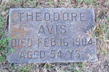 AVIS, THEODORE - Montgomery County, Kansas | THEODORE AVIS - Kansas Gravestone Photos