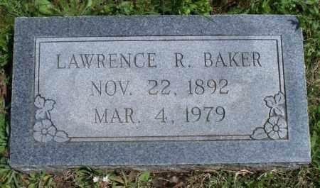 BAKER, LAWRENCE R. - Montgomery County, Kansas | LAWRENCE R. BAKER - Kansas Gravestone Photos