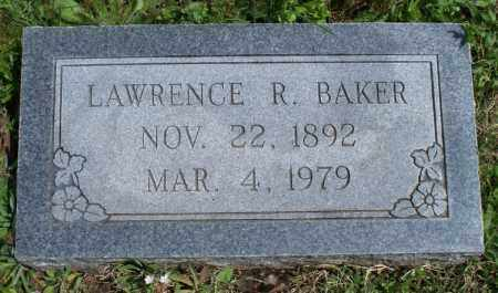 BAKER, LAWRENCE R - Montgomery County, Kansas | LAWRENCE R BAKER - Kansas Gravestone Photos