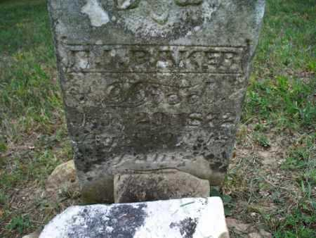 BAKER, H I - Montgomery County, Kansas | H I BAKER - Kansas Gravestone Photos