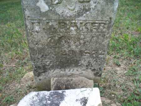 BAKER, X. - Montgomery County, Kansas | X. BAKER - Kansas Gravestone Photos