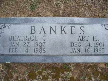 BANKES, ART H. - Montgomery County, Kansas | ART H. BANKES - Kansas Gravestone Photos