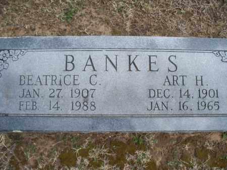BANKES, BEATRICE C  - Montgomery County, Kansas | BEATRICE C  BANKES - Kansas Gravestone Photos