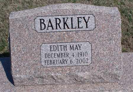 BARKLEY, EDITH MAY - Montgomery County, Kansas | EDITH MAY BARKLEY - Kansas Gravestone Photos