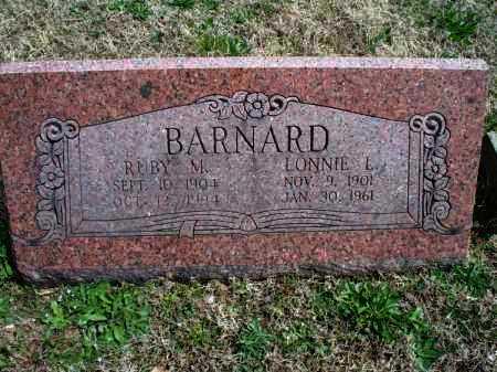 BARNARD, LONNIE L. - Montgomery County, Kansas | LONNIE L. BARNARD - Kansas Gravestone Photos