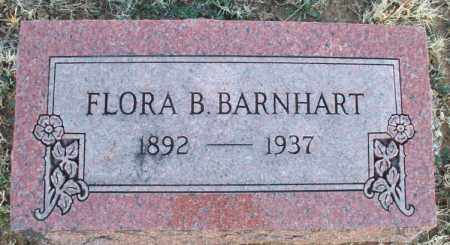 BARNHART, FLORA B. - Montgomery County, Kansas | FLORA B. BARNHART - Kansas Gravestone Photos