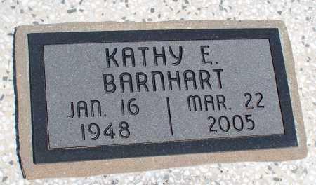 BARNHART, KATHY E. - Montgomery County, Kansas | KATHY E. BARNHART - Kansas Gravestone Photos