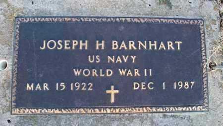 BARNHART, JOSEPH H   (VETERAN WWII) - Montgomery County, Kansas | JOSEPH H   (VETERAN WWII) BARNHART - Kansas Gravestone Photos