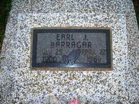 BARRAGAR, EARL J. - Montgomery County, Kansas | EARL J. BARRAGAR - Kansas Gravestone Photos