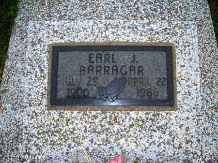 BARRAGAR, EARL J - Montgomery County, Kansas   EARL J BARRAGAR - Kansas Gravestone Photos