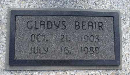 BEAIR, GLADYS - Montgomery County, Kansas   GLADYS BEAIR - Kansas Gravestone Photos